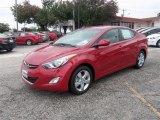 2013 Red Hyundai Elantra GLS #88310262