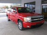 2011 Victory Red Chevrolet Silverado 1500 LTZ Crew Cab 4x4 #88310628