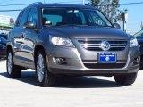 2011 Alpine Gray Metallic Volkswagen Tiguan SE 4Motion #88310568