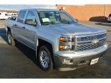 2014 Silver Ice Metallic Chevrolet Silverado 1500 LT Crew Cab 4x4 #88310550