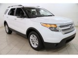 2013 Oxford White Ford Explorer XLT 4WD #88310537