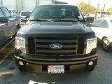 2010 Tuxedo Black Ford F150 STX Regular Cab #88340263