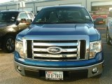 2011 Blue Flame Metallic Ford F150 XLT SuperCab #88340262