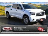 2013 Super White Toyota Tundra TRD Rock Warrior CrewMax 4x4 #88340194