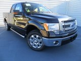 2013 Kodiak Brown Metallic Ford F150 XLT SuperCab #88349188