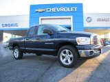 2007 Patriot Blue Pearl Dodge Ram 1500 SLT Quad Cab #88349217