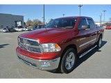 2012 Deep Cherry Red Crystal Pearl Dodge Ram 1500 Big Horn Crew Cab #88349325