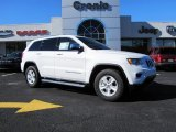 2014 Bright White Jeep Grand Cherokee Laredo #88349175