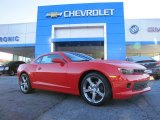 2014 Red Hot Chevrolet Camaro LT/RS Coupe #88349212
