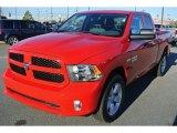 2014 Flame Red Ram 1500 Express Quad Cab 4x4 #88349320
