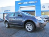 2014 Atlantis Blue Metallic Chevrolet Equinox LS #88349210