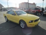 2006 Screaming Yellow Ford Mustang V6 Premium Convertible #88349269