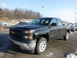 2014 Black Chevrolet Silverado 1500 WT Double Cab 4x4 #88349168