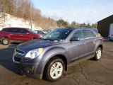 2014 Atlantis Blue Metallic Chevrolet Equinox LT AWD #88349166