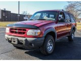 Toreador Red Metallic Ford Explorer in 2000