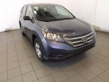 2013 Twilight Blue Metallic Honda CR-V LX #88349061
