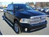 2014 Black Ram 1500 Laramie Limited Crew Cab 4x4 #88349306