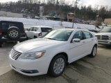 2014 Bright White Chrysler 200 Limited Sedan #88349249