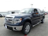 2014 Blue Jeans Ford F150 XLT SuperCrew 4x4 #88376153