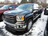 2014 Iridium Metallic GMC Sierra 1500 SLE Double Cab 4x4 #88376348