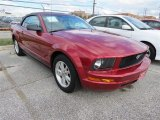 2007 Torch Red Ford Mustang V6 Premium Convertible #88376177