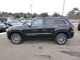 2014 Brilliant Black Crystal Pearl Jeep Grand Cherokee Limited 4x4 #88376196