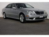 2004 Brilliant Silver Metallic Mercedes-Benz S 55 AMG Sedan #88392997