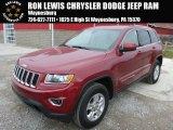 2014 Deep Cherry Red Crystal Pearl Jeep Grand Cherokee Laredo 4x4 #88393014