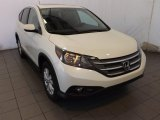 2014 White Diamond Pearl Honda CR-V EX #88392920
