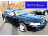 2000 Black Ford Mustang V6 Convertible #88392889