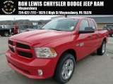 2014 Flame Red Ram 1500 Express Quad Cab 4x4 #88393031