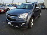 2013 Atlantis Blue Metallic Chevrolet Equinox LTZ #88406492
