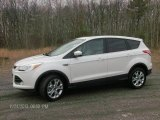 2013 Oxford White Ford Escape SEL 1.6L EcoBoost 4WD #88406550