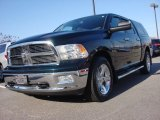 2011 Hunter Green Pearl Dodge Ram 1500 Big Horn Crew Cab 4x4 #88406610