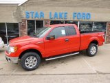 2014 Race Red Ford F150 XLT SuperCab 4x4 #88406859