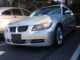 2008 Titanium Silver Metallic BMW 3 Series 335i Sedan #88406608