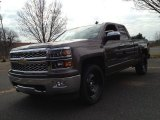 2014 Brownstone Metallic Chevrolet Silverado 1500 LTZ Double Cab 4x4 #88406601