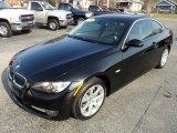 2008 Jet Black BMW 3 Series 335xi Coupe #88406775