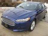 2013 Deep Impact Blue Metallic Ford Fusion SE #88406773