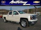 2014 White Diamond Tricoat Chevrolet Silverado 1500 LT Crew Cab 4x4 #88406894
