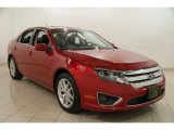 2010 Red Candy Metallic Ford Fusion SEL V6 #88406768