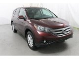 2012 Basque Red Pearl II Honda CR-V EX 4WD #88406450