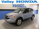 2010 Glacier Blue Metallic Honda CR-V LX AWD #88406513