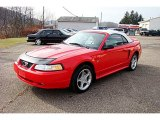 2000 Performance Red Ford Mustang GT Convertible #88443192