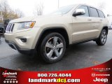 2014 Cashmere Pearl Jeep Grand Cherokee Limited #88442886