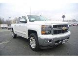 2014 Summit White Chevrolet Silverado 1500 LTZ Crew Cab 4x4 #88443257