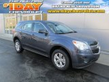 2014 Atlantis Blue Metallic Chevrolet Equinox LS AWD #88442669
