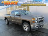 2014 Brownstone Metallic Chevrolet Silverado 1500 LT Z71 Double Cab 4x4 #88442665