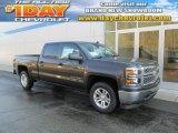 2014 Tungsten Metallic Chevrolet Silverado 1500 LT Crew Cab 4x4 #88442663