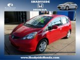 2013 Milano Red Honda Fit  #88442761